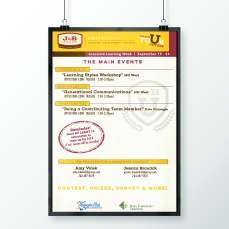 Associate Learning Week Poster