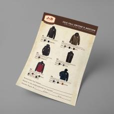 Jacket Order Form