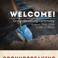 Groundbreaking Program Front